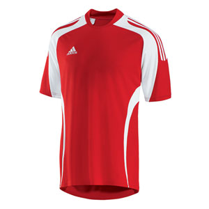 Red Adidas Soccer Jersey